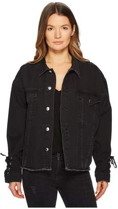 McQ Oversized Laced Jacket Women's Coat
