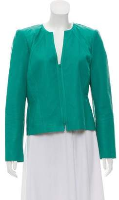 Lafayette 148 Structured Leather Jacket