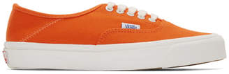 Vans Orange Canvas OG 43 LX Sneakers