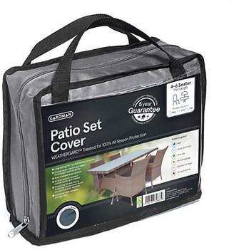 Gardman 4-6 Seater Rectangle Patio Set Cover - Grey