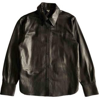 Arket Black Leather Top for Women