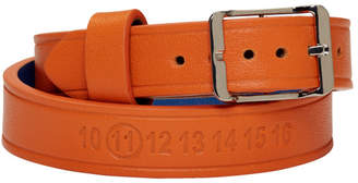 Maison Margiela Orange Double Wrap Bracelet
