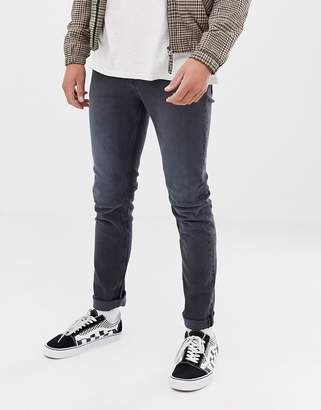 Cheap Monday Slim Tapered Jeans In Gray