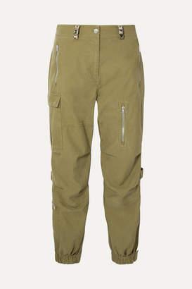 Alexander Wang Cotton Cargo Pants - Army green