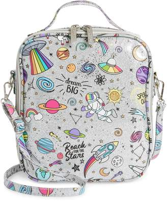 Bari Lynn Glitter Galaxy Emoji Lunchbox