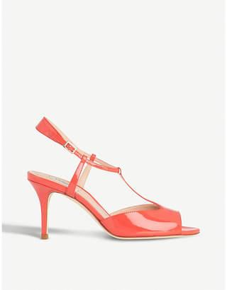 LK Bennett Quinn patent-leather sandals