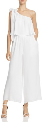 Guess Marino One-Shoulder Jumpsuit $108 thestylecure.com
