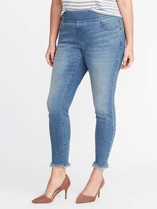 Old Navy Smooth & Comfort Plus-Size Rockstar Jeans