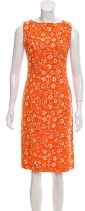 Gianni Versace Printed Midi Dress