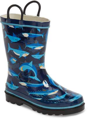 Western Chief Pixel Shark Camo Rain Boot