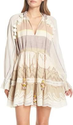 HEMANT AND NANDITA Hemant & Nandita Tasseled Cover-Up Dress