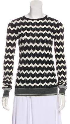 Stella McCartney Virgin Wool Chevron Sweater