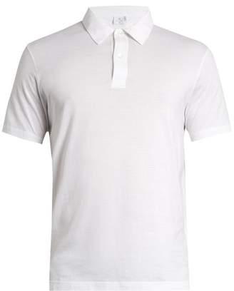 Sunspel Cotton Jersey Polo Shirt - Mens - White