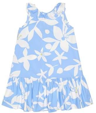 1fdc2d57d5 Il Gufo Floral cotton dress