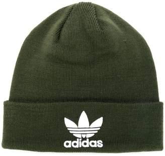 adidas basic logo beanie hat