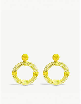 BaubleBar Sonique hoop earrings