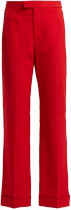 Maison Margiela Flared cropped trousers