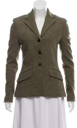 Ralph Lauren Patterned Wool Jacket