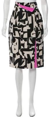 Roksanda Linen-Blend Pencil Skirt