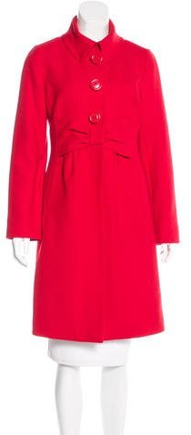 Kate Spade Kate Spade New York Wool Knee-Length Coat