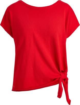 Ralph Lauren Tie-Hem Cotton Top