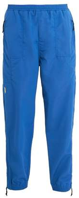PAM Apollo Logo Embroidered Track Pants - Mens - Blue