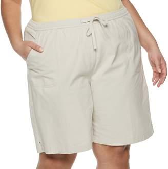 Croft & Barrow Plus Size Pull-On Shorts