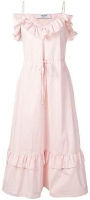 Blugirl ruffle-trimmed dress