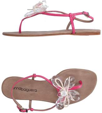 Anna Baiguera Toe strap sandals