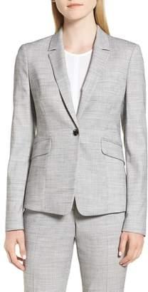 BOSS Jibalena Mini Glencheck Suit Jacket