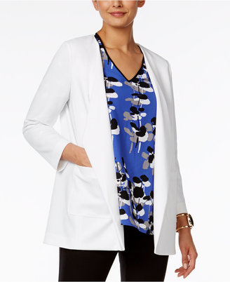 Alfani Draped Blazer, Only at Macy's $89.50 thestylecure.com