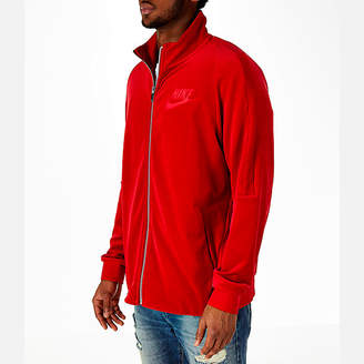 Nike Men's Sportswear Velour Track Jacket