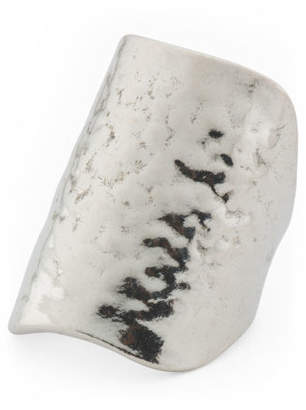 Made In Israel Sterling Silver Textured Knuckle Ring