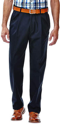 Haggar Work to Weekend Classic-Fit Pleated Pants