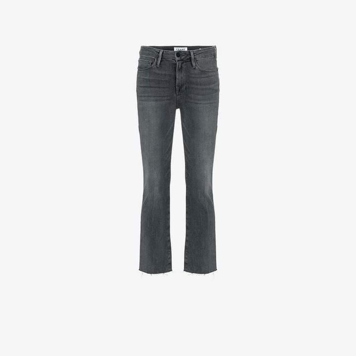 Denim Le Crop Mini Boot jeans
