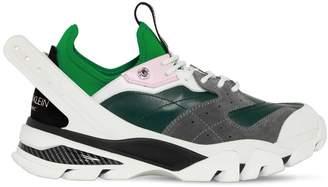 Calvin Klein Carlos 10 Leather & Neoprene Sneakers