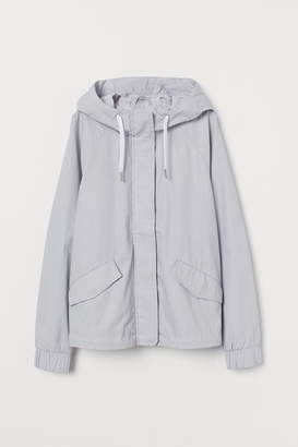 H&M Short Pima Cotton Parka
