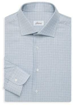 Brioni Checkered Dress Shirt