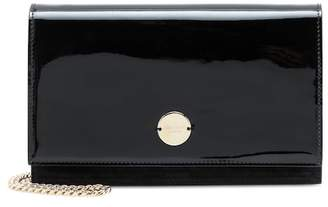 Jimmy Choo Florence patent leather clutch