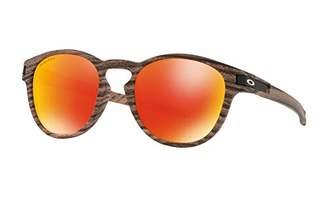 Oakley Men's Latch Non-Polarized Iridium Oval Sunglasses