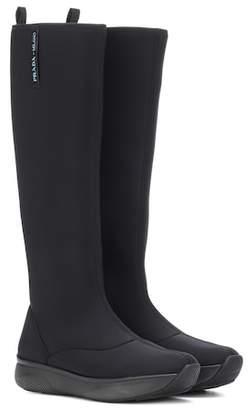 Prada Scuba boots