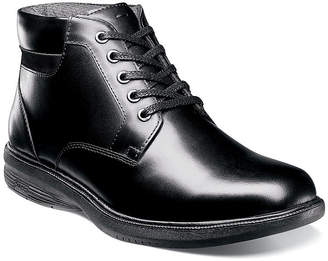 Nunn Bush Mens Lace Up Boots Flat Heel Lace-up