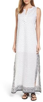 Women's Vineyard Vines Cotton Maxi Dress $158 thestylecure.com