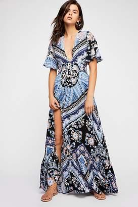 Coco Printed Maxi Dress