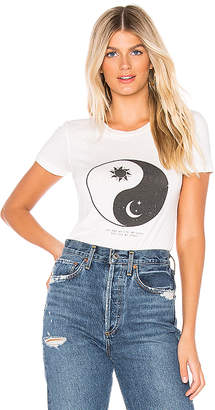 Spiritual Gangster Sun Moon Tally Shrunken Tee