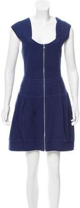 Yigal Azrouel Cut25 by Knit Mini Dress