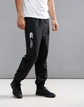 Canterbury of New Zealand cuffed stadium joggers in black e513106-989