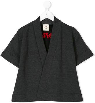 Douuod Kids wonder embroidered cardigan