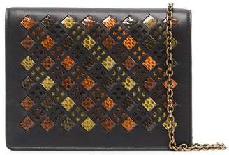 Bottega Veneta Multicoloured stained glass leather wallet on chain bag