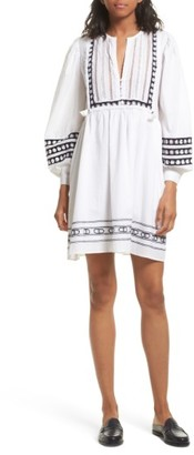 Women's Sea Lace Bib Dress $425 thestylecure.com